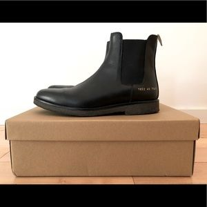 Common Projects Chelsea Boots (men's size 40)